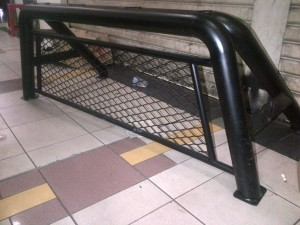 Roll Bar With Window Protector